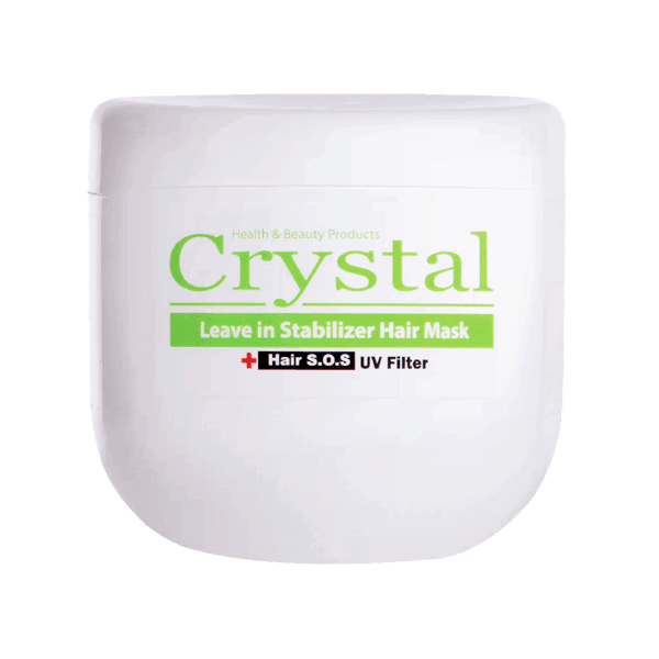 تصویر ماسک موی مغذی و تثبیت کننده رنگ کریستال