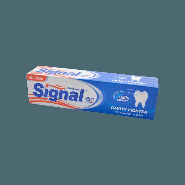 تصویر خمیر دندان ضدپوسیدگی سیگنال