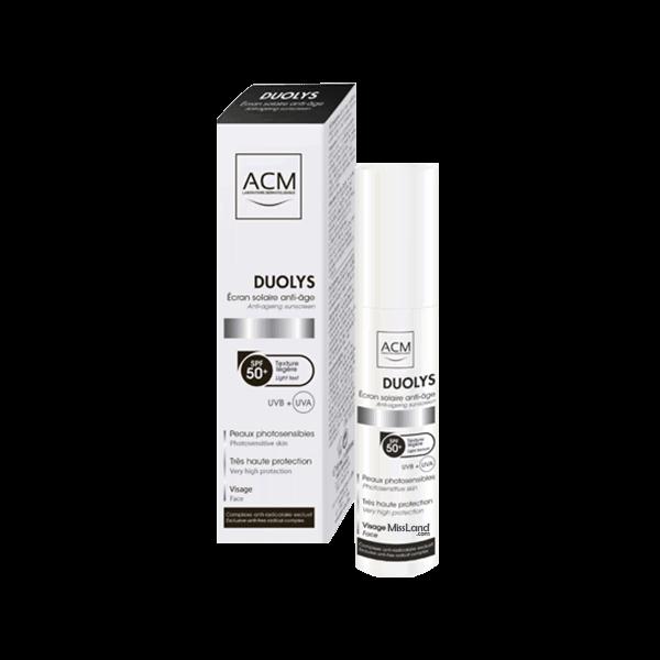 تصویر ضد چروک همراه با ضد آفتاب ۵۰ دالیس ای سی ام