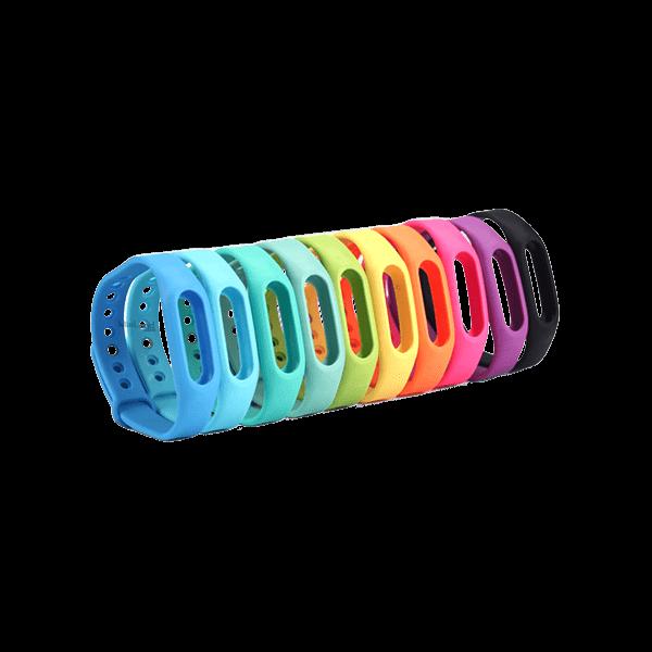 تصویر بند رنگی دستبند شیائومی