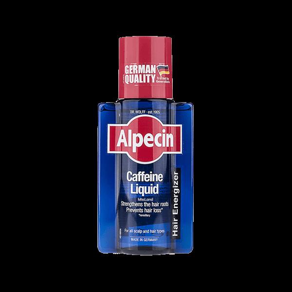 تصویر محلول تقویت کننده مو کافئین آلپسین