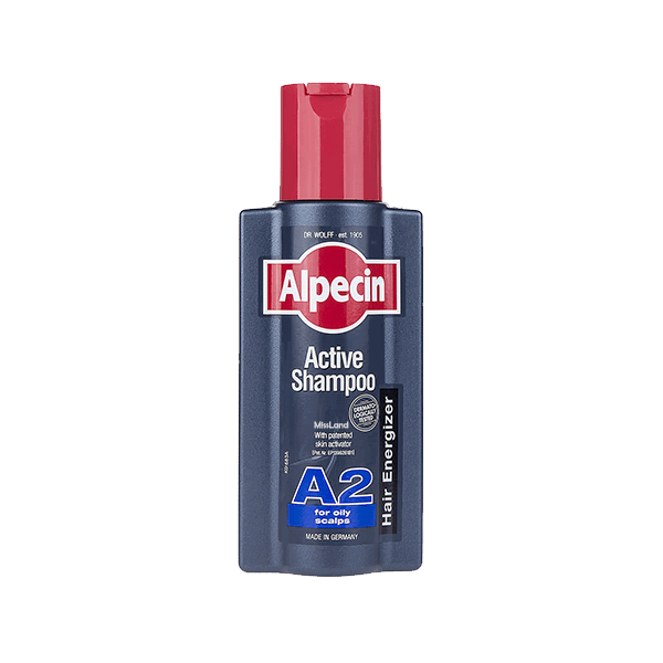 تصویر شامپو اکتیو A2 موهای چرب آلپسین