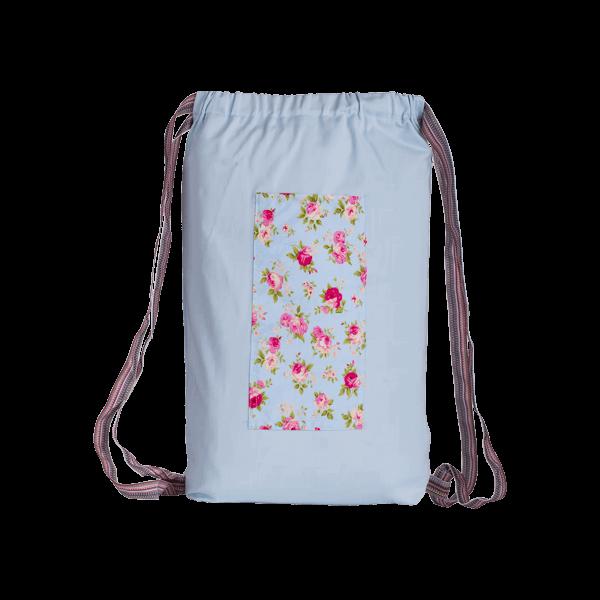 تصویر کولهبار گلدار آبی انامیر