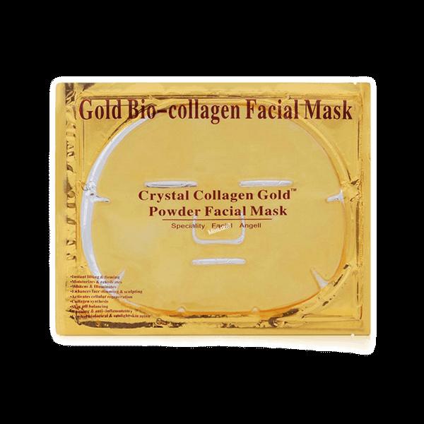 تصویر ماسک طلایی صورت گلدبایو