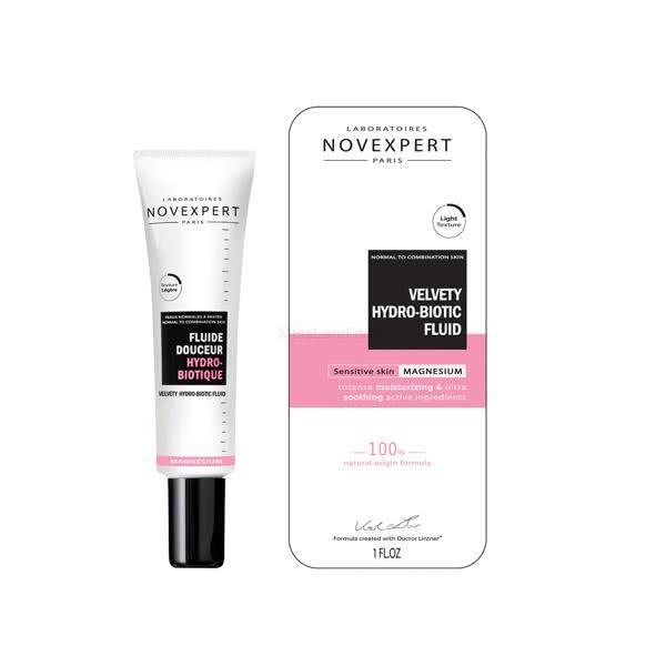 تصویر فلوئید مرطوب کننده برای پوست های حساس نووکسپرت
