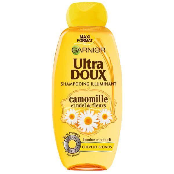 تصویر شامپو بابونه و عسل  مناسب موهای روشن گارنیه