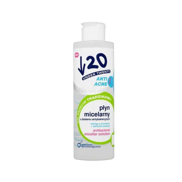 تصویر محلول میسلار ضد باکتری آندر توانتی