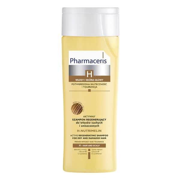 تصویر شامپو بازسازی کننده موثر برای موهای خشک و آسیب دیده اچ نوتری ملین فارماسریز