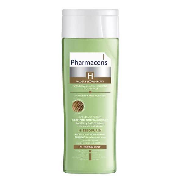 تصویر شامپو متعادل کننده حرفهای برای مو و پوست سر چرب اچ سبوپیورین فارماسریز