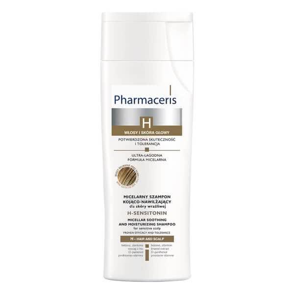 تصویر شامپو تسکین دهنده حرفهای برای پوست سر حساس و موهای نازک اچ سنسی تونین فارماسریز