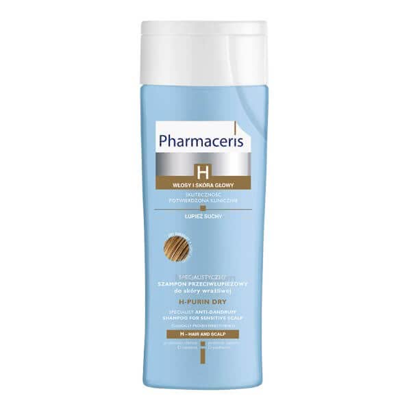 تصویر شامپو ضد شوره سر مخصوص پوست های سر حساس و شوره خشک اچ پیورین فارماسریز