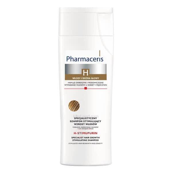 تصویر شامپو تقویت کننده محرک رشد و پرپشت کننده مو اچ استیموپیورین فارماسریز