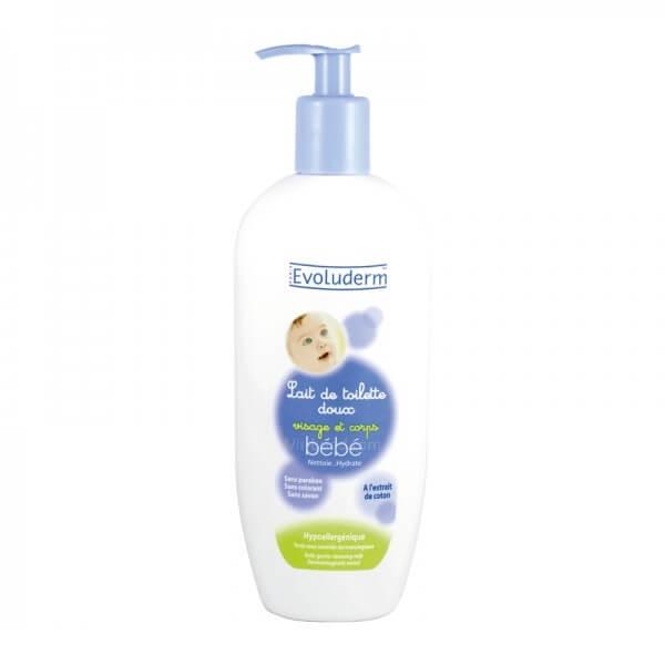 تصویر شیر پاک کن بدن و صورت کودک اولودرم